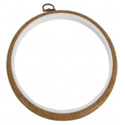 MV0033L Plastový vyšívací kroužek flexi (13 cm)