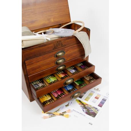 Dřevěný sběratelský box